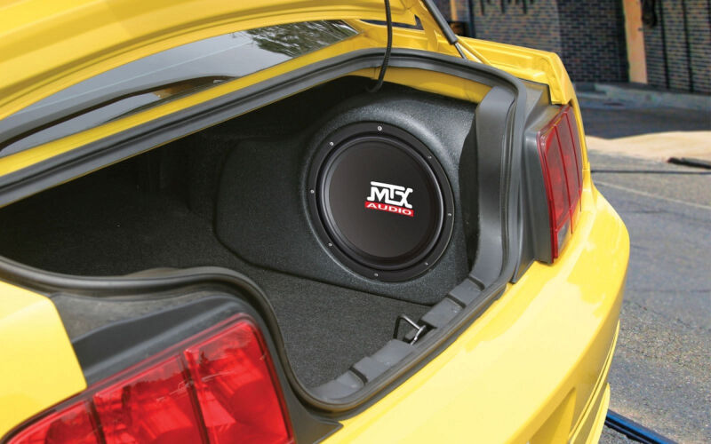 2005 2013 Mustang MTX Thunderform Loaded Amp Amplified 12