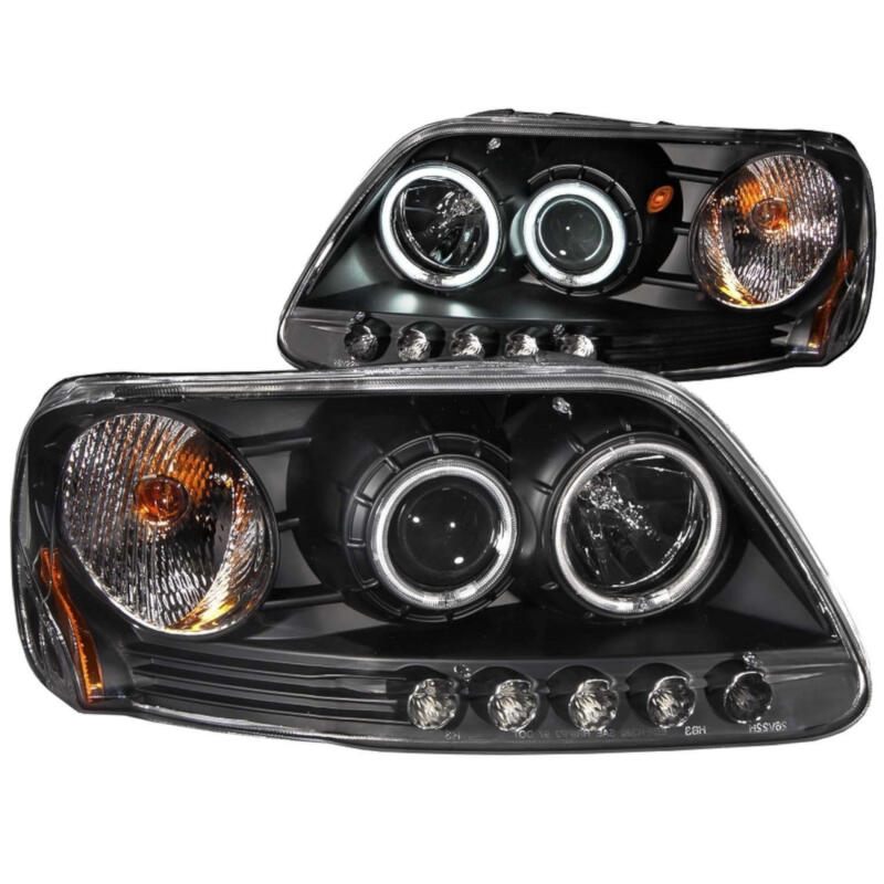 hight resolution of add to my lists 1997 2003 f150 anzo projector headlights ccfl halo