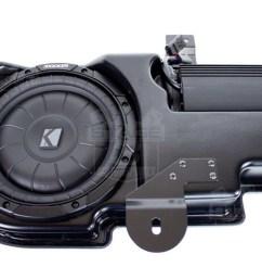2009 2014 f150 kicker vss powerstage powered subwoofer kit super crew pf150c [ 1200 x 800 Pixel ]