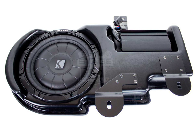 medium resolution of 2009 2014 f150 kicker vss powerstage powered subwoofer kit super crew pf150c