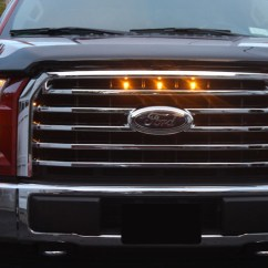 2017 Ford F150 Headlight Wiring Diagram Sure Power Battery Isolator 2015 Xlt Custom Auto Works Raptor Style Led