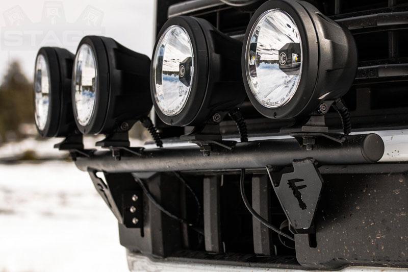 20152018 F150 NFab Light Bar For Round Lights F154LB