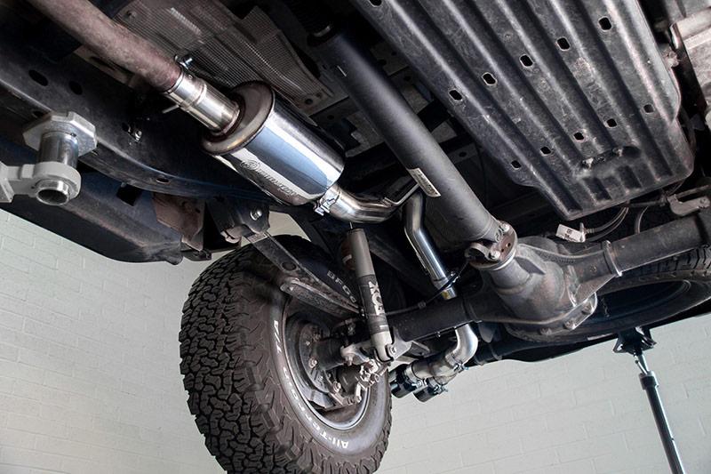 2019 2020 ford ranger cat back exhaust