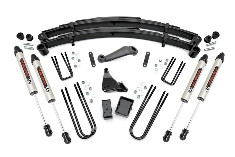 F250 Amp F350 4wd Rough Country 6 Suspension Lift