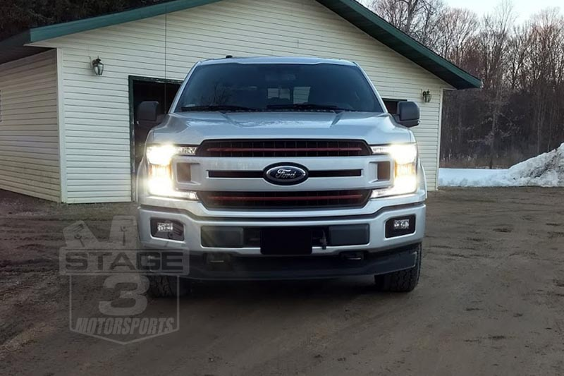 hight resolution of  2015 2019 f150 crystalux g9 series high low beam led conversion kit 04