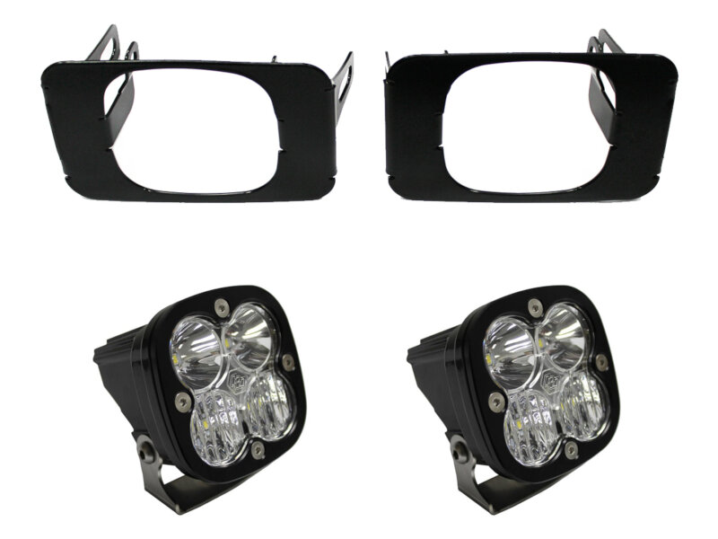 hight resolution of 2017 2019 f250 f350 baja designs squadron sport driving combo off road led fog light kit includes mounts