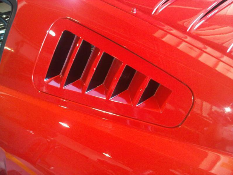 20052009 Mustang GT Window Louvers