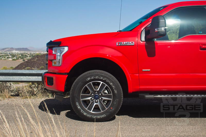 medium resolution of 2014 2019 f150 auto spring 2 front leveling kit