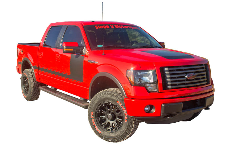 hight resolution of 2004 2014 f150 fx4 appearance package stripe kit 01