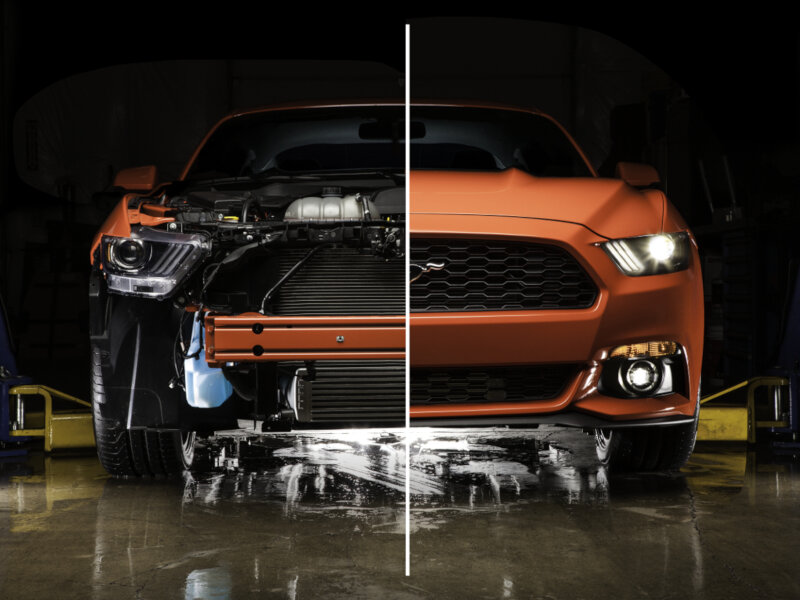 2012 ford focus diagram 99 civic wiring alarm 2015-2017 mustang 2.3l ecoboost cobb tuning front mount intercooler 7m1500