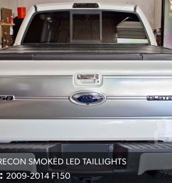 f150 recon smoked led taillights  [ 1200 x 800 Pixel ]