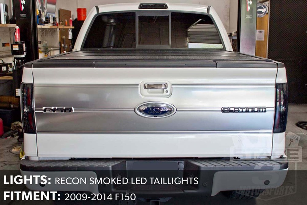 medium resolution of  f150 recon smoked led taillights