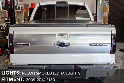 small resolution of  f150 recon smoked led taillights