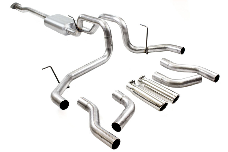 Install Guide F150 5 0l Flowmaster Force Ii Cat Back Kit On Our Fx4