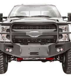 2017 2019 f250 f350 fab fours premium winch ready front bumper with full [ 1200 x 900 Pixel ]