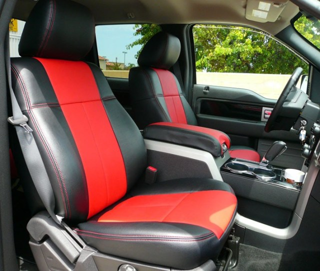 2009 2014 F150 Clazzio Leather Seat Covers