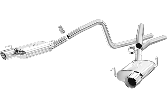 2005-2009 Mustang GT/GT500 MagnaFlow Cat-back Exhaust