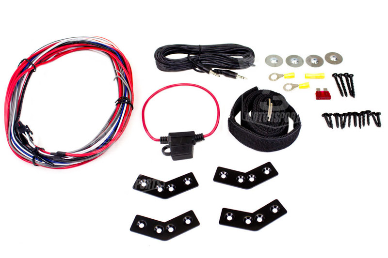 kicker powered subwoofer wiring diagram magnetic contactor 8 quot hideaway with enclosure and 150w