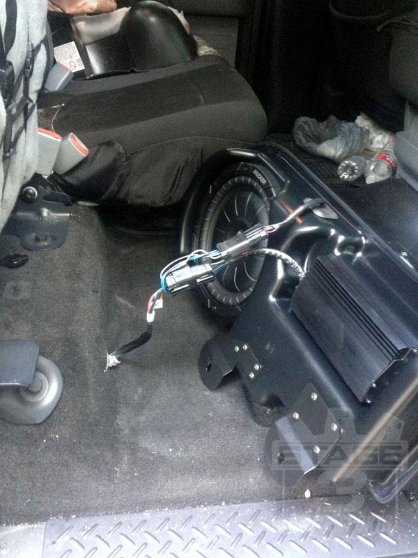 2013 Ford F 150 Radio Wiring Diagram 2009 2014 F150 Kicker Vss Substage Powered Subwoofer Kit