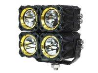 KC HiLites Quad FLEX Off-Road LED Lighting System (Single ...