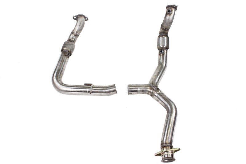 F150 Ecoboost Mbrp Catted Downpipes Stainless