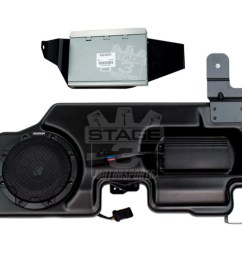 2015 2018 f150 kicker vss powerstage powered subwoofer amp kit pf150sc15 [ 1200 x 800 Pixel ]