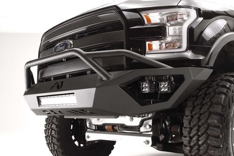 hight resolution of 2015 f150 fab fours vengeance front bumper