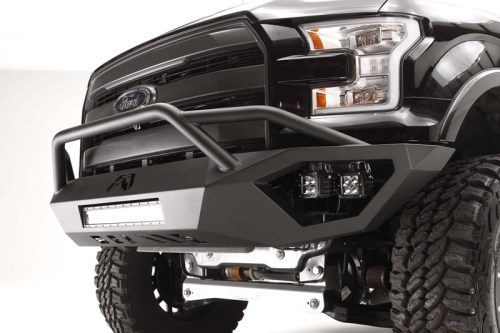 small resolution of 2015 f150 fab fours vengeance front bumper