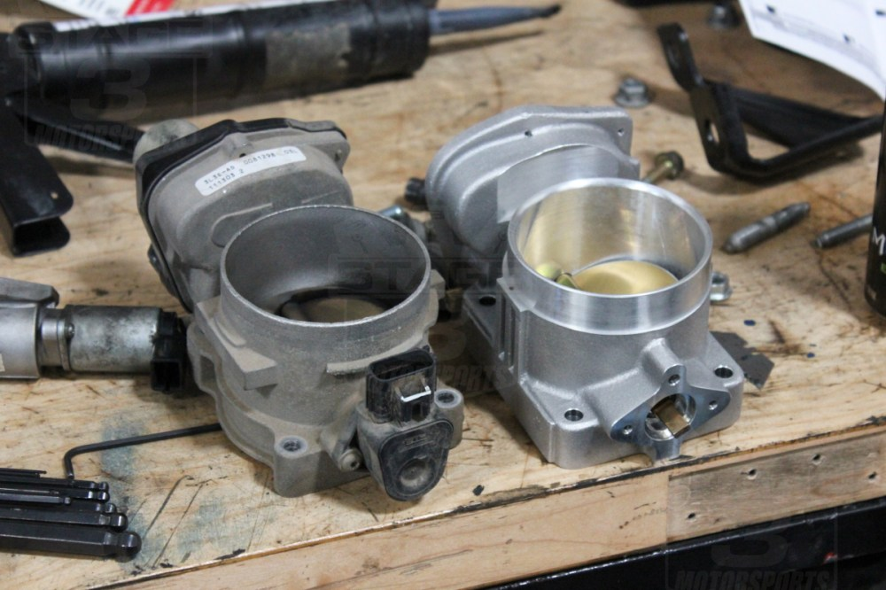 medium resolution of 2004 2010 f150 5 4l bbk 80mm performance power plus throttle body