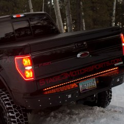 Recon Xtreme Tailgate Light Bar Wiring Diagram 98 S10 Headlight 60 Quot Scanning Led 26416x