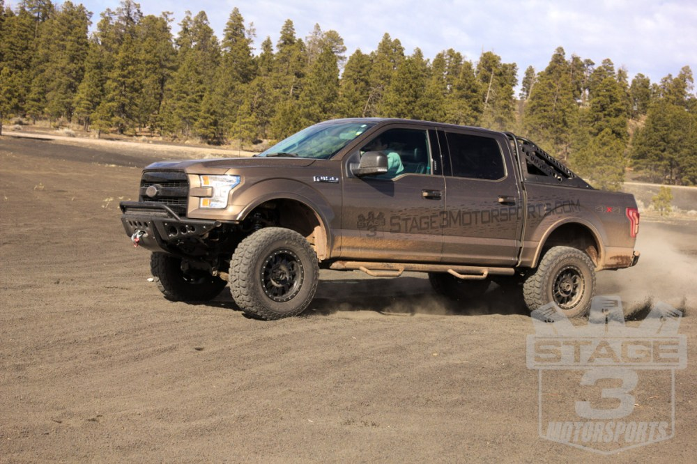 medium resolution of 2015 f150 5 0l with method double standard wheels and mickey thompson baja atz p3s
