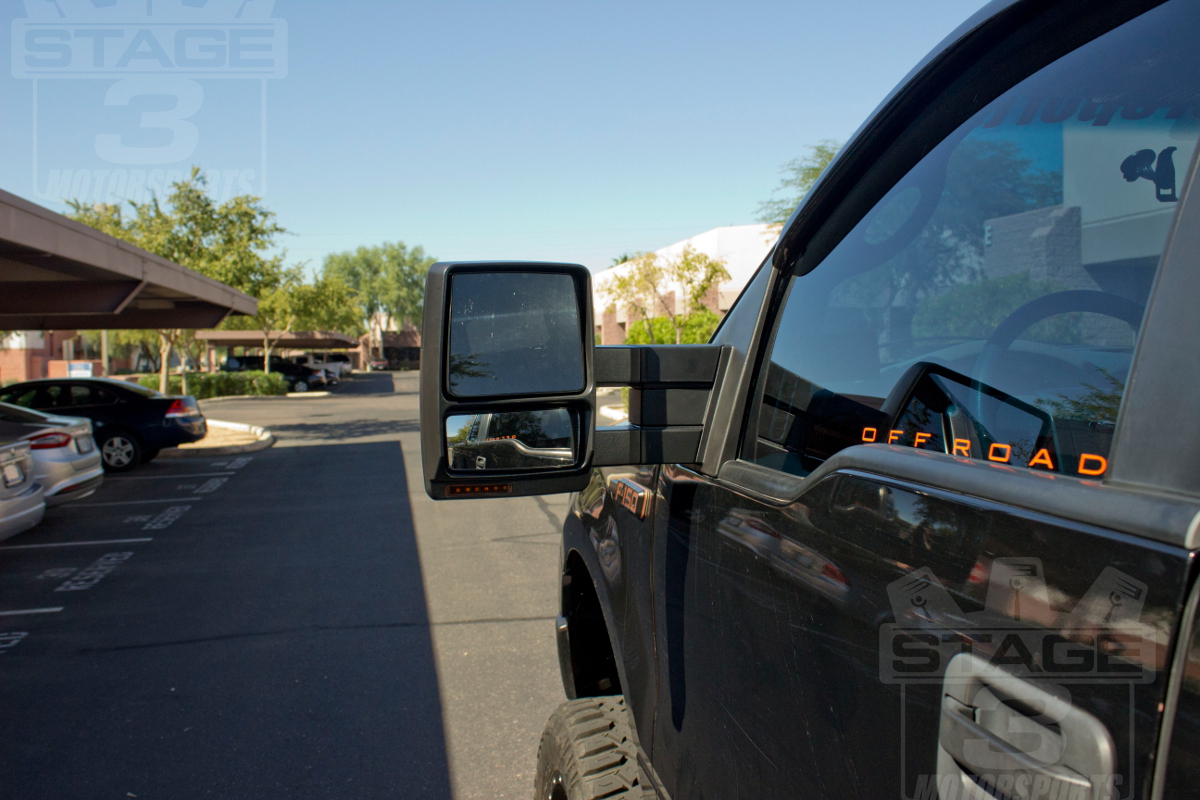 hight resolution of 2007 2014 f150 tow mirrors with puddle lights install