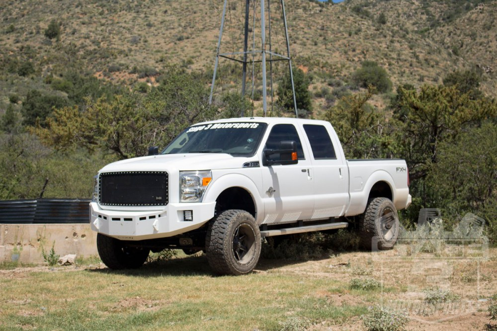 medium resolution of 2014 super duty with fuel maverick 20x12 wheels with 44mm offset