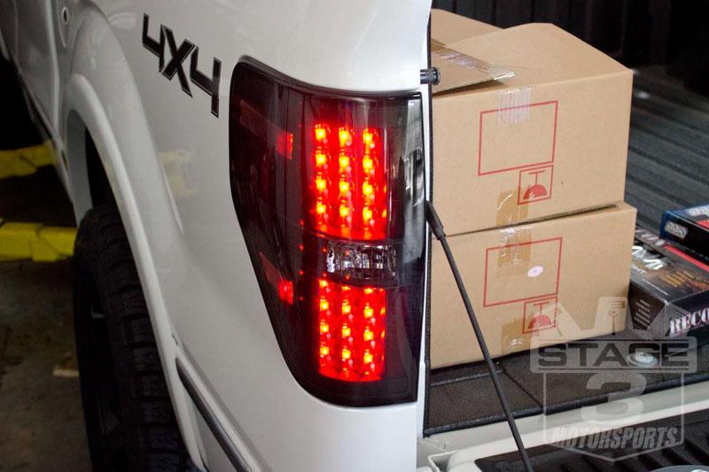 medium resolution of r264168bk2009 2013f150raptorreconledtaillights smoked 19 2009 2014 f 150 headlights tail truck pickup tail light wiring harness f150 f250