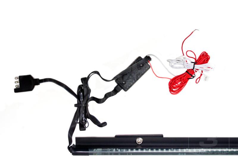 recon xtreme tailgate light bar wiring diagram guitar 2 pickup 1 volume tone 60 quot scanning led 26416x