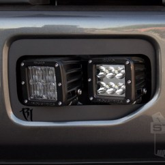 Wire 2 Lights To 1 Switch Diagram Honeywell Wiring Thermostat Rigid Industries Dual D-series Fog Light Mounting Kit Installed On Our 2.7l Ecoboost!