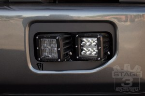 Rigid Industries Dual DSeries Fog Light Mounting Kit Installed on our 27L EcoBoost!