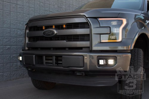 small resolution of 2015 2017 f150 rigid industries dual d series fog light bucket mounts