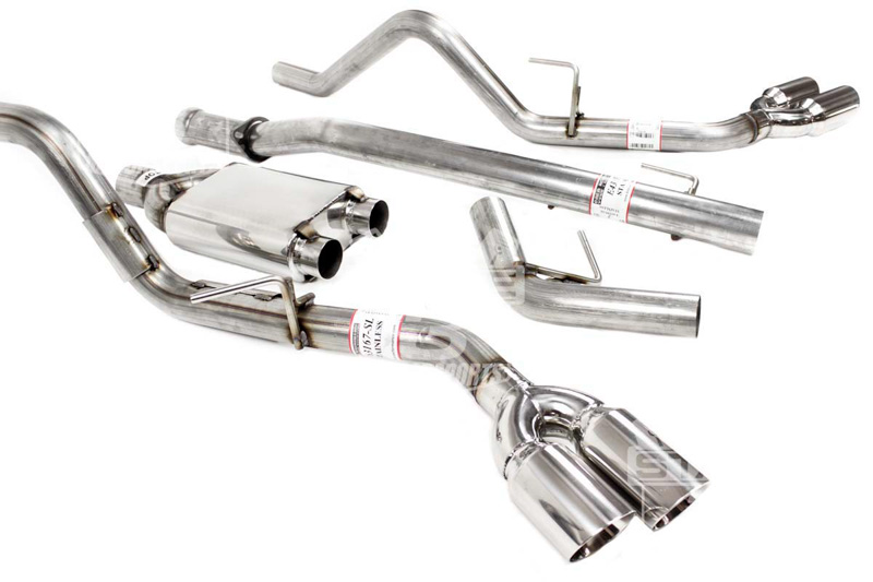 F150 5 0l Solo Performance Mach X Dual Exhaust