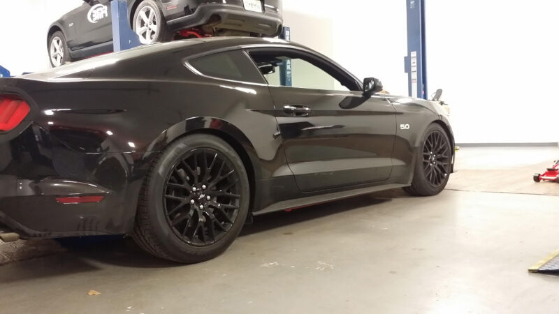hight resolution of 2015 2017 mustang gt 5 0l bmr performance front lowering springs sp081 mustang gt fuse box lower mustang gt wiring harness
