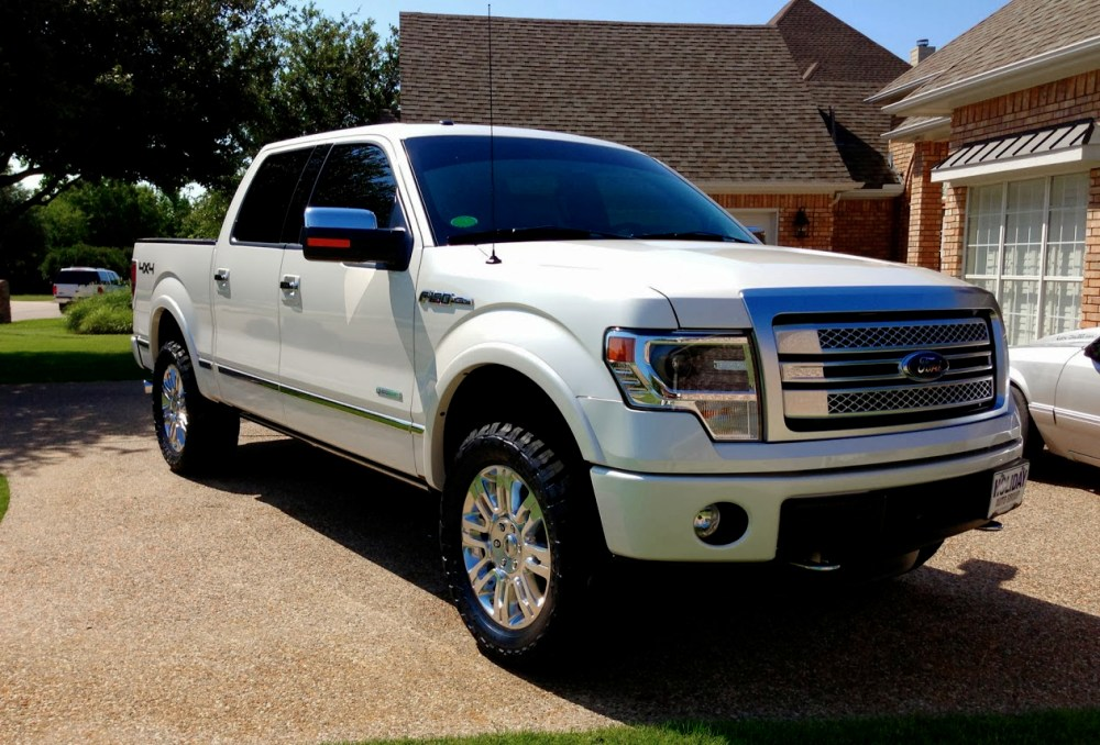 medium resolution of 2013 f150 with leveling kit 33 tires