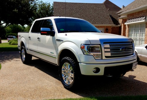 small resolution of 2013 f150 with leveling kit 33 tires