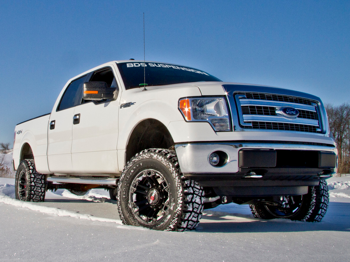 hight resolution of 2014 f150 with a bds 6 inch lift kit