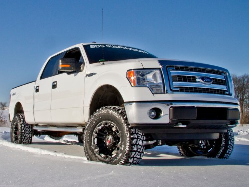 small resolution of 2014 f150 with a bds 6 inch lift kit