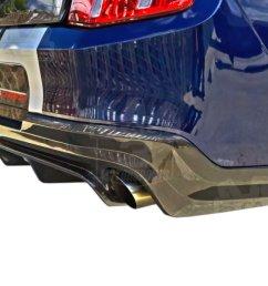 2010 2012 mustang trucarbon rear diffuser [ 1200 x 900 Pixel ]