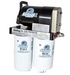 2004 2007 f250 f350 6 0l airdog pureflow ii 165gph fuel preporator kit  [ 1200 x 900 Pixel ]