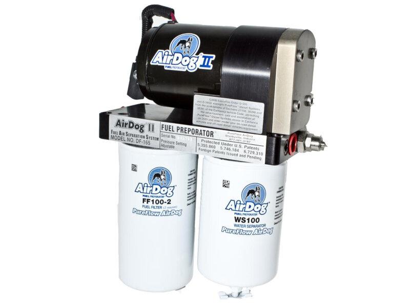 hight resolution of 2004 2007 f250 f350 6 0l airdog pureflow ii 165gph fuel preporator kit 500 800 hp