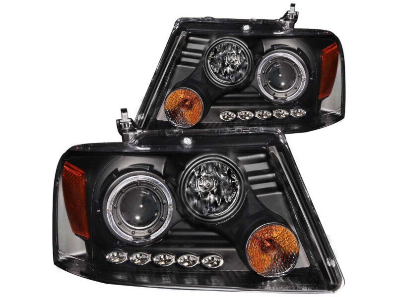 hight resolution of add to my lists 2004 2008 f150 anzo dual halo projector headlights