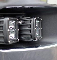 2011 2013 chevrolet 2500 3500 rigid d series fog light mounting kit [ 1200 x 900 Pixel ]