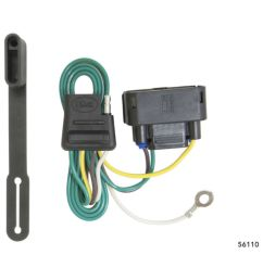 2010 2016 f150 curt rear trailer t connector wiring harness w o ford ranger trailer [ 900 x 900 Pixel ]